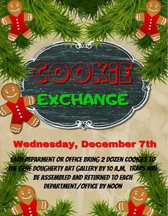 NOC Tonkawa Cookie exchange set for Dec. 7 Happy Holidays Happy Holidays NOC Regents Elect Officers At their Nov.