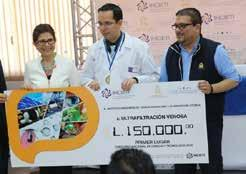 Fernando Fajardo, a professor at the Faculty of Medical Sciences at the Universidad Nacional Autonoma de Honduras (UNAH), also laboring in the University Teaching Hospital (HEU) in the areas of