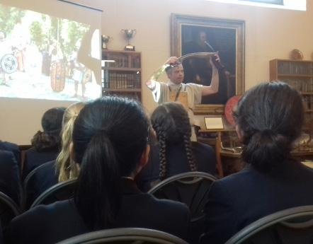 A WORD FROM THE LIBRARY: BEN KANE BRINGS ANCIENT ROME TO LIFE Whether it s a place to come and read a newspaper or magazine, or a serene space to come and do some prep, the Monmouth School for Boys