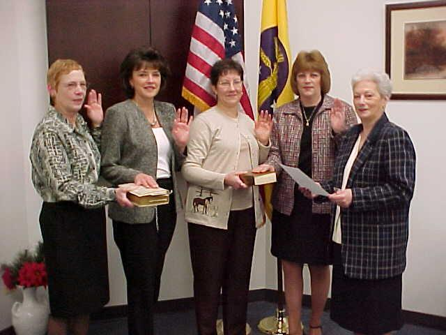 PEOPLE PAGE, continued: COUNTY NEWS by Sharon Brienza SUSSEX COUNTY The Sussex County Clerks Municipal Clerks Association announced their new officers for the years 2007 and 2008.