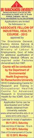 SRI RAMACHANDRA UNIVERSITY (Declared under Section 3 of the UGC Act, 1956) Porur, Chennai