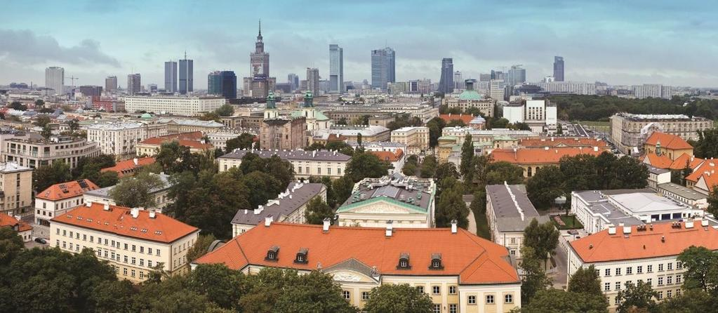UW FACTS AND FIGURES The University of Warsaw was founded in 1816. In November 2016, UW celebrated the 200 th anniversary of its foundation. The slogan for the anniversary was: Two centuries.