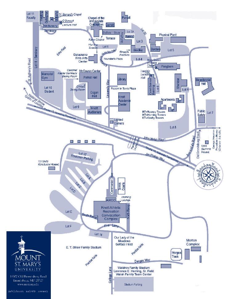 Loyola Blakefield Campus Map.The 35th Annual Maryland Leadership Seminar May 22 25 Hosted And