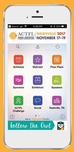 Experience it program guide a convention unlike any other 2017 introducing the 2017 actfl annual convention and world languages expo mobile app to enhance your experience fandeluxe