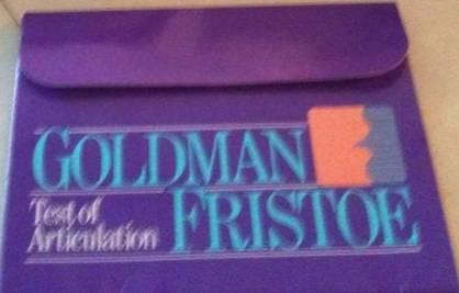 Goldman Fristoe-2: Research, Administration, and