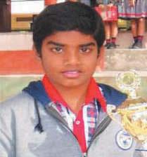 won a silver medal in chess at the KVS National Sports Meet held in New Delhi Shashank