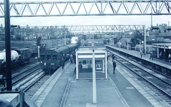 (1966 Image) In 1970 the Sandbach to