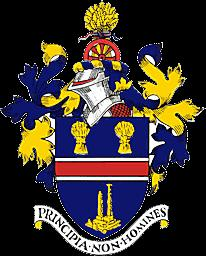 The new Coat of Arms was originally designed for the Urban District Council and had Secured a grant of