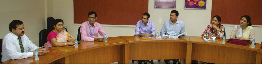 Second Panel Discussion, Formal Interaction with Alumni Batch of PGDM 2007-09 on August 28, 2017 Jaipuria Institute of Management, Jaipur held a formal discussion with Batch 2007-09, on 28th August