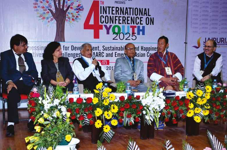 It was attended by 500 student participants, 30 faculty members, 25 eminent speakers from SAARC and other countries The Conference Convener were Dr. Prerna Jain and Dr. Lokesh Vijayvargy.