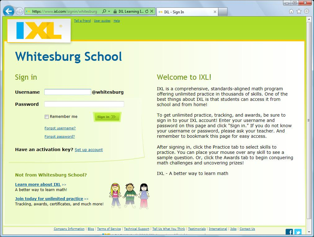 activation key for ixl