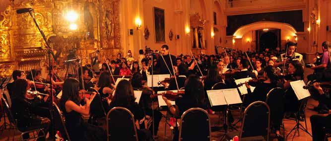 In 2010, the Rector Julieta Castellanos approved the creation of a degree in Music at the School of Art and the reopening of UNAH s Chamber Orchestra, which was led by the French flutist Yvan Bertet