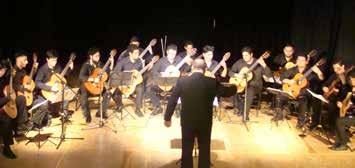 Guitar Orchestra Guitar Orchestra was founded in August 2009, under the direction of teachers Eduardo Antonio Acosta and Silvio Gerardo Henríquez.