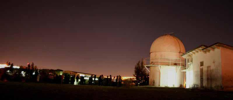 OUTREACH The observatory had the collaboration of the United Nations and the International Astronomical Union with the donation of the largest optical telescope in Central America.